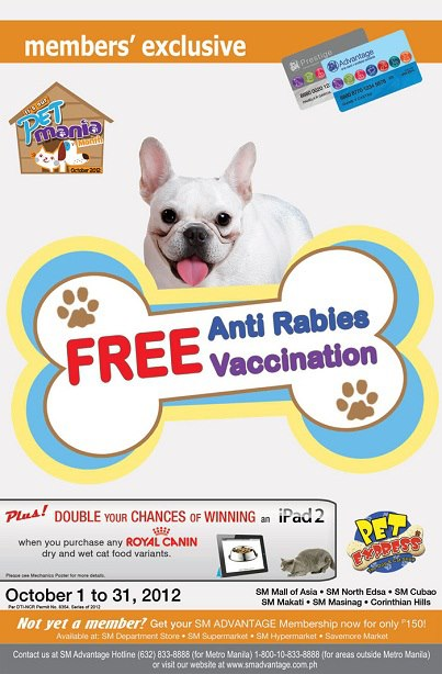 Free Anti Rabies Vaccination From Pet Express